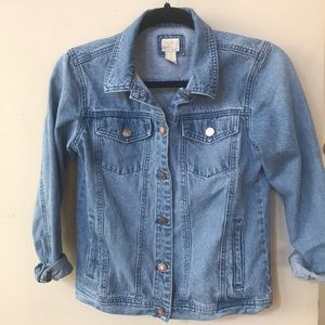 Jackets & Blazers - Forever 21 girls jean jacket